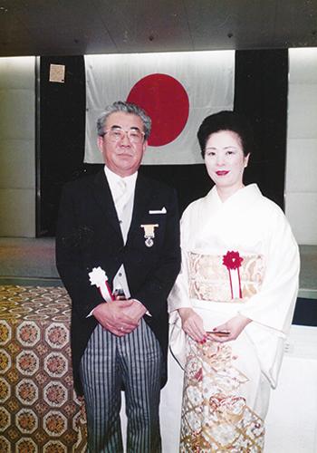1993年黄綬褒章